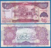 SOMALILAND - 1000 SHILLINGS - 2015 - UNC - Somalie