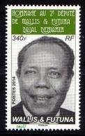 Wallis Et Futuna 2014 - Hommage A Brial Benjamin, 2e Député De Wallis Et Futuna - 1 Val Neufs // Mnh - Neufs
