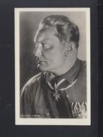 Dt. Reich AK Göring Hochdekoriert SoSt. Deutschlandflug Endziel Wien 1938 - Personaggi Storici