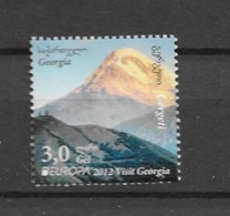 2012 MNH Georgia, Postfris** - Europa-CEPT