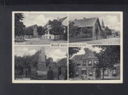 Dt. Reich AK Gruß Aus Zobbenitz 1937 - Germania