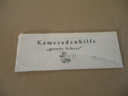 Paire De Ciseaux Allemand KAMERADENHILFE WWII - Equipement