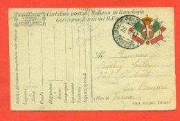 FRANCHIGIE - POSTA MILITARE - PM  - CENSURE - Franchigia