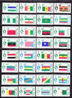 Egitto 1969-Africa Day Serie Completa Nuova MNH** - Nuovi