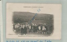 CPA   CAMPAGNE D'ORIENT 1914 1917   CAMPEMENT De ZOUAVES Dans La Plaine  Septembre 2019 34 - Macedonia