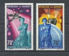 DAHOMEY  YVERT  71/72      MNH  ** - Benin – Dahomey (1960-...)