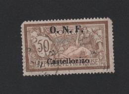 Faux Castellorizo N° 34 50 C Merson Oblitéré 2eme Choix - Castellorizo (1920)