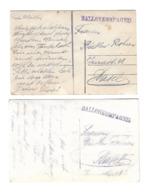 2 Cartes CACHET BALLONKOMPAGNIE SUISSE AVIATION BALLON /FREE SHIPPING REGISTERED - Poststempel