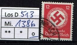 Los D513: DR Mi. 138 B, Gest. - Oficial