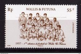 Wallis Et Futuna 2017 - Foot, 1ère Sélection De Foot De Wallis Et Futuna - 1 Val Neufs // Mnh - Neufs