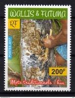 Wallis Et Futuna 2017 - Mets Traditionnels De Wallis Et Futuna, Hua - 1 Val Neufs // Mnh - Neufs