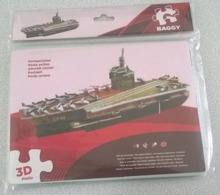 3D Puzzle De 65 Pièces Porte Avions - Puzzles