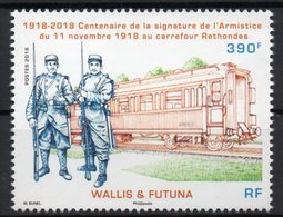 Wallis Et Futuna 2018 - Cent 1ere Guerre Mondiale, Armistice - 1 Val Neuf // Mnh - Wallis-Et-Futuna