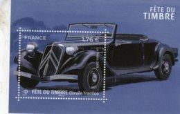 Citroen Traction Decapotable  -  France 2019 Fete Du Timbre 1v Miniature Sheet  -  Neuf/Mint/MNH - Coches