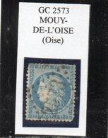 Oise - N° 60A (ld) Obl GC 257 Mouy-de-l'Oise - 1871-1875 Cérès