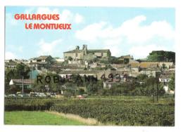 Gallargues Le Montueux (30) Vue Generale - Gallargues-le-Montueux