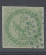#137 COLONIES GENERALES N° 2 Oblitéré Losange De Points Bleus (Réunion) - Aigle Impérial