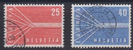 Europa Cept 1957 Switzerland 2v Used (44625B) - 1957
