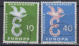 Europa Cept 1958 Germany 2v Used (44625E) - 1958