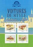 France 2019  - Voitures De Style  -  Monica-Delahaye-Mercedes-Rolls Royce - 4v Sheet Neuf/Mint/MNH - Voitures