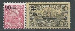 NOUVELLE-CALEDONIE N° 133+129 * TB  3 - Nuevos