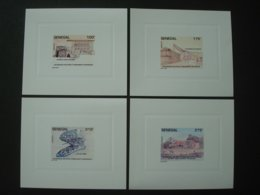 SENEGAL 1994 Nr 1104/1107 In 4 LUXE PROOFS HISTORIC MONUMENTS - Sénégal (1960-...)