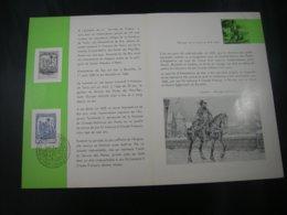 BELG.1959 1093 FDC Feuillet Fr. (Bruxs) : Journée Du Timbre / Dag Van De Postzegel - FDC