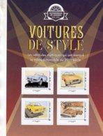 France 2019  - Voitures De Style  -  Alfa Romeo-Peugeot-Fiat-Hotchkiss Grégoire - 4v Sheet Neuf/Mint/MNH - Voitures
