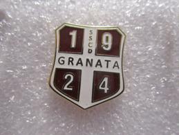 Società Sportiva Calcio Dilettantistica Granata 1924 Ercolano Napoli Soccer Pins Spilla Italy Ercolanese - Calcio