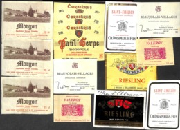 Petit Trésor !!!  + De 650 étiquettes Majorité VINS Mais Aussi Whisky Porto Liqueur Champagne Bonne Chasse ! - Zonder Classificatie