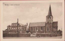 Nevele Kerk En Klooster (In Zeer Goede Staat) - Nevele