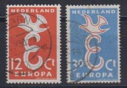 Europa Cept 1958 Netherlands 2v Used (44626A) - 1959