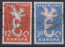 Europa Cept 1958 Netherlands 2v Used (44626B) - 1958