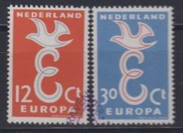 Europa Cept 1958 Netherlands 2v Used (44626C) - 1958