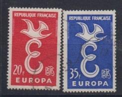Europa Cept 1958 France 2v Used (44627) - 1958