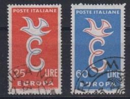 Europa Cept 1958 Italy 2v Used (44627B) - 1958