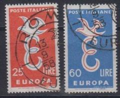 Europa Cept 1958 Italy 2v Used (44627C) - 1958
