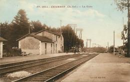 Dpt Div-ref-AM89- Charente Maritime - Chambon - La Gare - Interieur - Gares - Ligne De Chemin De Fer - - France