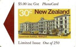 NEW ZEALAND $5 BUILDING 30 CENTS STAMP 250 ONLY !!  MINT GPT READ DESCRIPTION !! - New Zealand