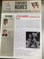 Bulletin Des Ceintures Noires Judo FFJDA 2010 - Sports De Combat