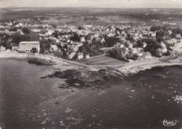 CONCARNEAU - FINISTÈRE - (29) -  CPSM DENTELÉE DE 1955 - BEL AFFRANCHISSEMENT POSTAL . - Concarneau