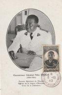 Carte Maximum -  Gouverneur Général Félix Eboué Premier Résistant De L'Empire ... - Somalia