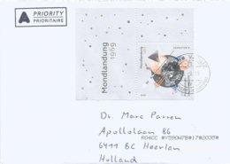 Liechtenstein 2019 Vaduz Apollo 11 Moonlanding 200 Hologram Cover - Hologramas