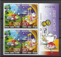2005 MNH Cyprus From Booklet, Postfris** - 2005