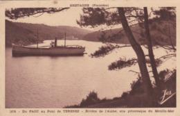 LE FAOU - FINISTÈRE - (29) -  CPA DE 1950 - BEL AFFRANCHISSEMENT POSTAL. - France