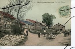 CPA COLORISEE . D39. SAINT LAURENT DU JURA. Le Coin D'amont.  . EDIT Vve DELEZAY - Other Municipalities