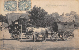 CROISEMENT DES MALLE-POSTE - Post & Briefboten