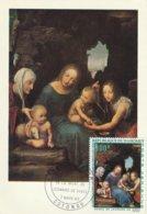 Carte Maximum -  La Vierge Aux Balances Par Léonard De Vinci - Dahomey
