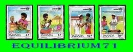 1293/1296** - Révolution Pour La Survie De L'enfant. Unicef - RWANDA - Rwanda