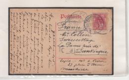 Guerre 1914/18 Carte Via Les Pays Bas  Vers La Belgique    2 Adresses  2 Scan - WW I